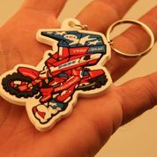 Red Buddy Keychain
