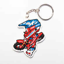 Load image into Gallery viewer, Red Buddy Keychain