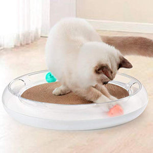 INSTACHEW Cat Scratch and Play Mat