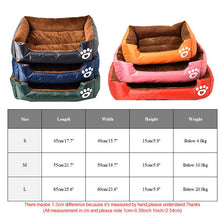 Load image into Gallery viewer, Reversible Pet Bed Soft Winter/Summer For Cats or Dogs