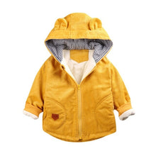 Load image into Gallery viewer, Toddler Girls Boys Winter Coat 3D Cartoon Hooded