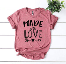 Load image into Gallery viewer, Made With Love T-shirt