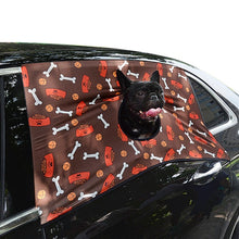 Load image into Gallery viewer, Pet Elasticity Car Visor Cover Dog Sun Shade Car Printed Hang Out Window Curtain Pet Supplies Accessories