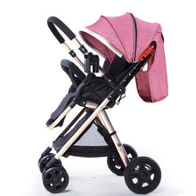 Load image into Gallery viewer, Two Way Portable Lightweight  Folding  Baby Stroller