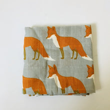 Load image into Gallery viewer, Organic Cotton Bamboo Baby Blanket 60cm-60cm  Comes in Various Styles