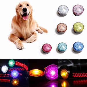 New 1Pc Waterproof Led Light-emitting Pendant Flashing In Dark Solid Anti-lost Safety Dog Pet Supplies Accessories