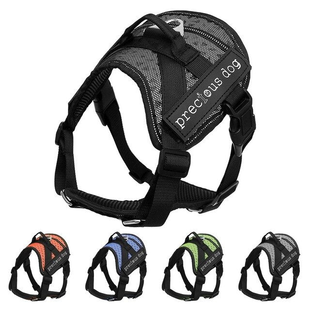 Adjustable Breathable Mesh Pet Harness
