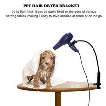 Load image into Gallery viewer, Pet Hair Dryer Bracket Shelf Rotatable Hands-Free Hair Dryer Beauty Table Holder Pet Grooming Cleaning Accessories Supplies New