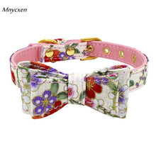 Load image into Gallery viewer, New Quality Adjustable Printed Bowknot Collar: Great for Cats/Kittens/Dogs/Puppies  XS-L