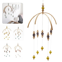 Load image into Gallery viewer, Mobile Wooden Beads Wind Chimes  Great for Kids Room and Photography Props