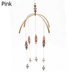Mobile Wooden Beads Wind Chimes  Great for Kids Room and Photography Props