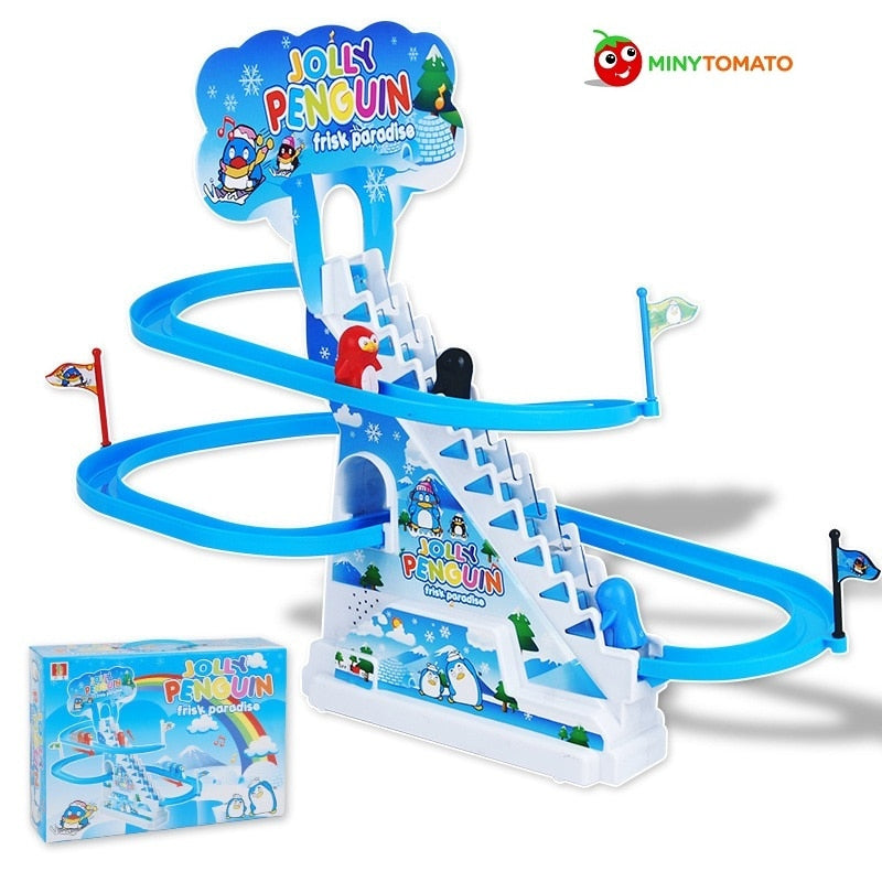 Electronic Educational Toddler Plastic Sliding Board Toys