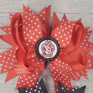 USD (6in) Hairbow - Red