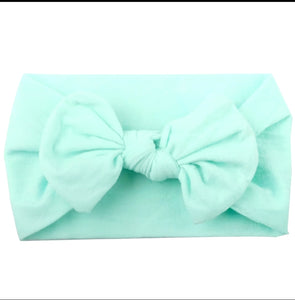Nylon Headband - Light Blue