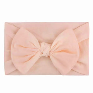 Nylon Headband - Light Peach