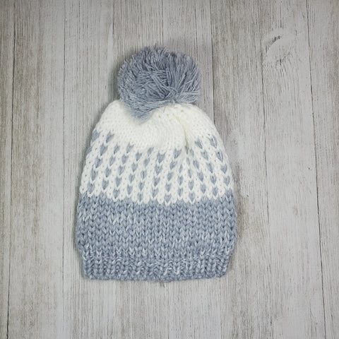 Infant Hat with pom