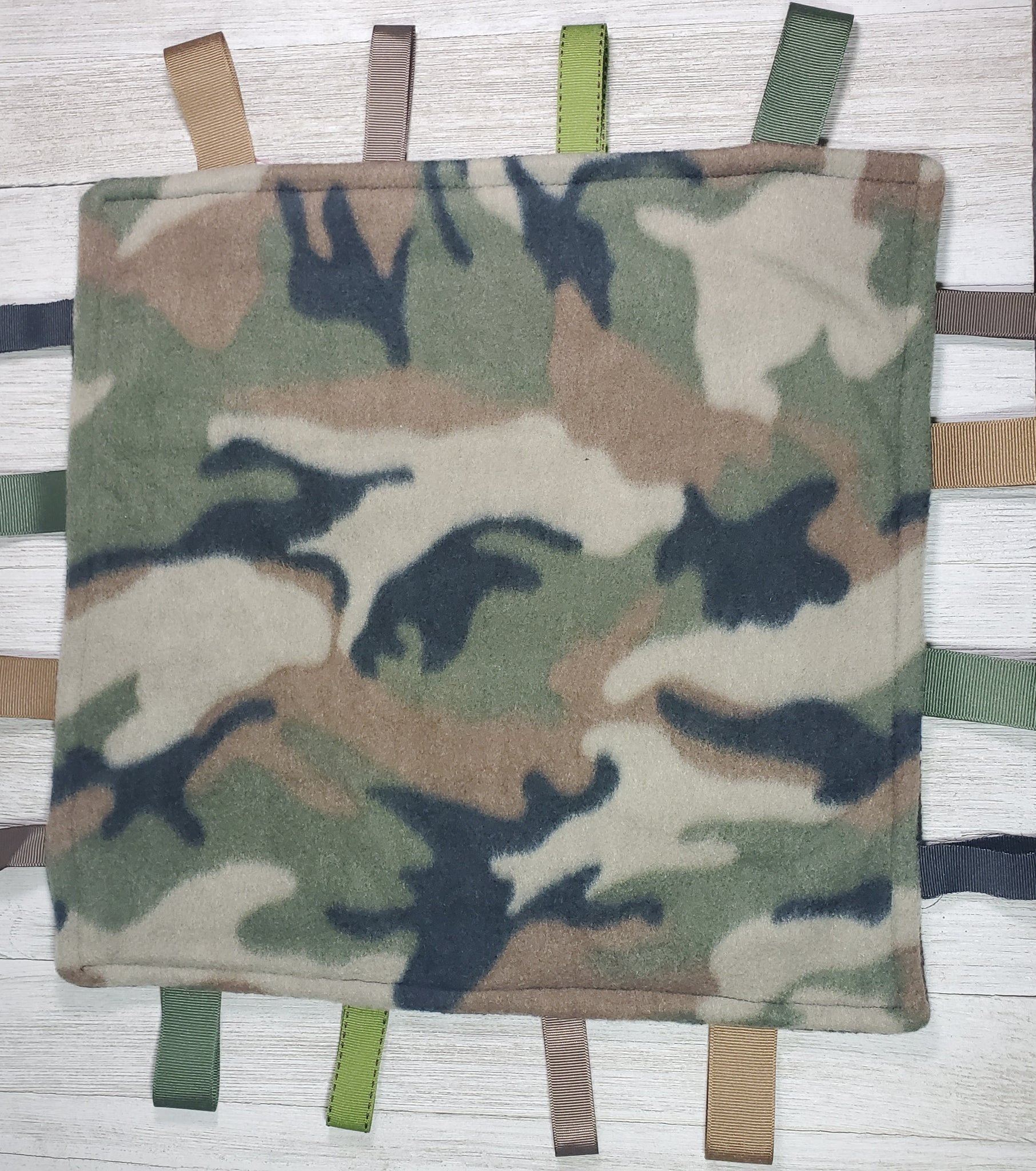 Camo Lovey Tag Blanket