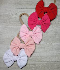 5 inch Hairbow with Headband or Clip