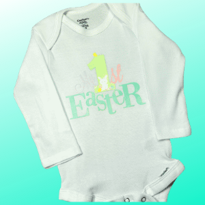 'My 1st Easter' onesie or toddler t-shirt