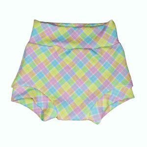 Easter Plaid Fabric - Headband, Bummie or Bummie Skirt
