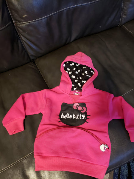 Hello Kitty Hoodie - LilChic BabyBug Boutique