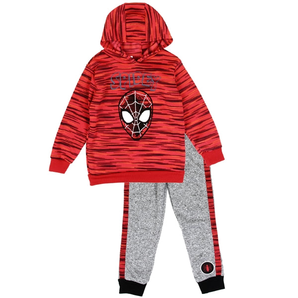 Spiderman Hoodie & Pant Set - LilChic BabyBug Boutique