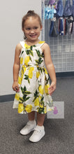 Load image into Gallery viewer, Lots o' Lemons Dress