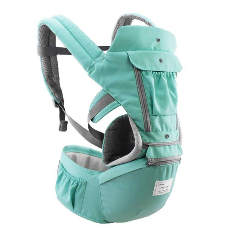 All-In-One Baby Breathable Travel Carrier-Green - LilChic BabyBug Boutique LLC