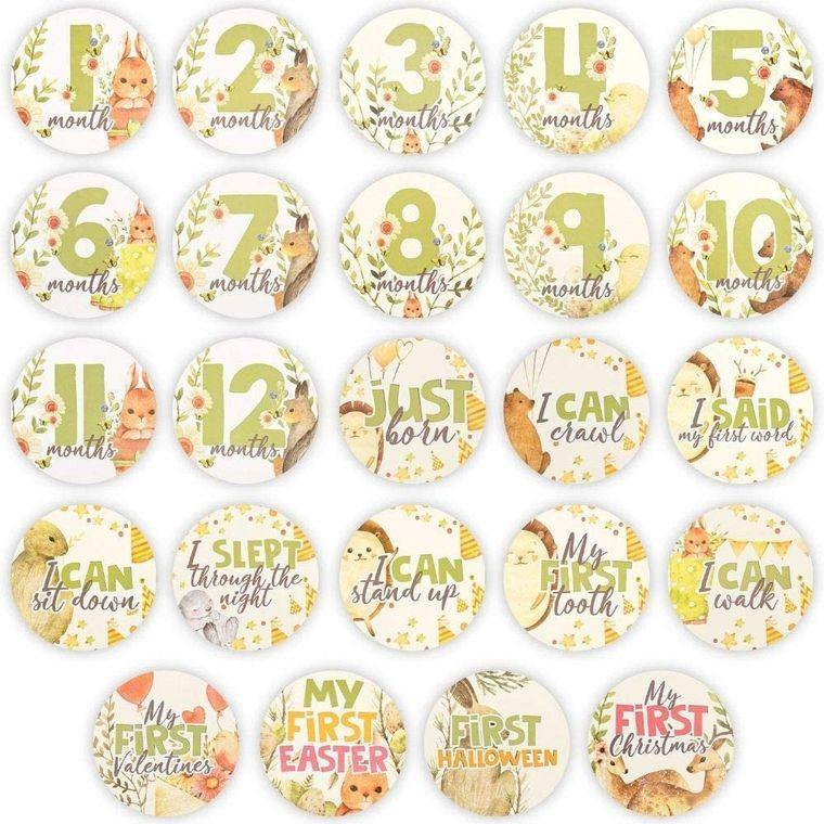 Baby Milestone Sticker - LilChic BabyBug Boutique LLC