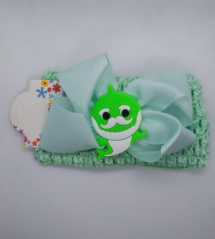 Baby Shark Headband - LilChic BabyBug Boutique