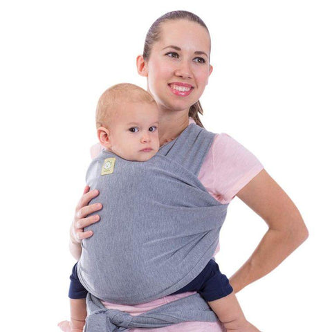 Baby Wrap Carrier (Classic Gray) - LilChic BabyBug Boutique LLC