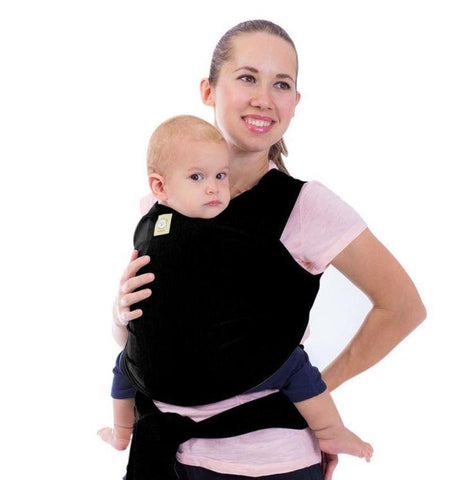 Baby Wrap Carrier (Trendy Black) - LilChic BabyBug Boutique LLC