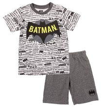 Load image into Gallery viewer, Batman Short Set - LilChic BabyBug Boutique