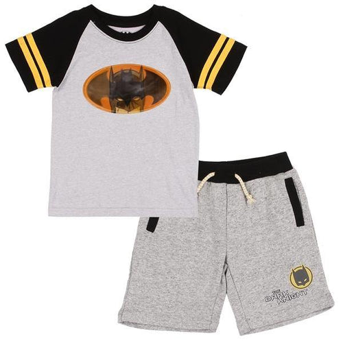 Batman Toddler Short Set - LilChic BabyBug Boutique
