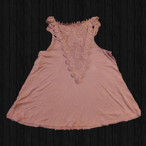 Butterfly Lace Top - LilChic BabyBug Boutique