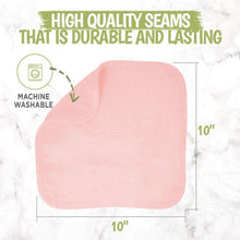 Load image into Gallery viewer, Deluxe Baby Washcloths (Blush Pink) - LilChic BabyBug Boutique LLC