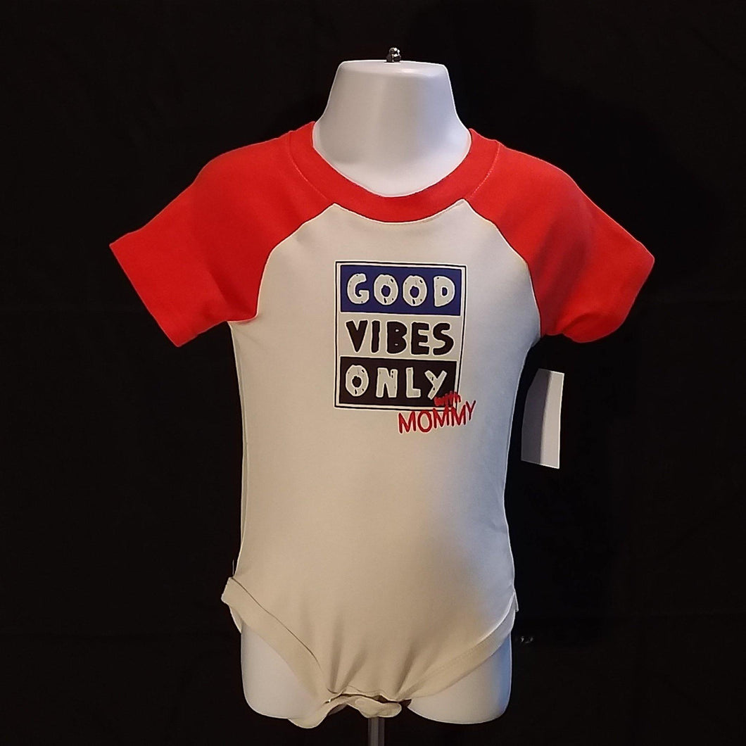 Good Vibes Onesie - LilChic BabyBug Boutique