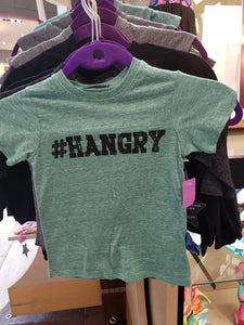 """Hangry"" Graphic Tee - LilChic BabyBug Boutique"