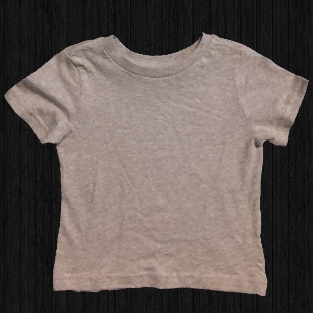 Infant Gray T-shirt - LilChic BabyBug Boutique