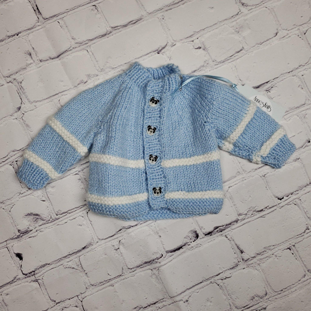 Light Blue Premi Infant Jacket - LilChic BabyBug Boutique LLC