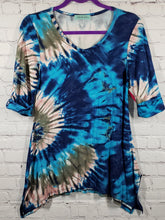 Load image into Gallery viewer, Maternity Tie Dye Tunic - LilChic BabyBug Boutique