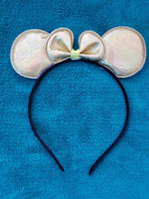 Load image into Gallery viewer, Metallic Mouse Ears - LilChic BabyBug Boutique