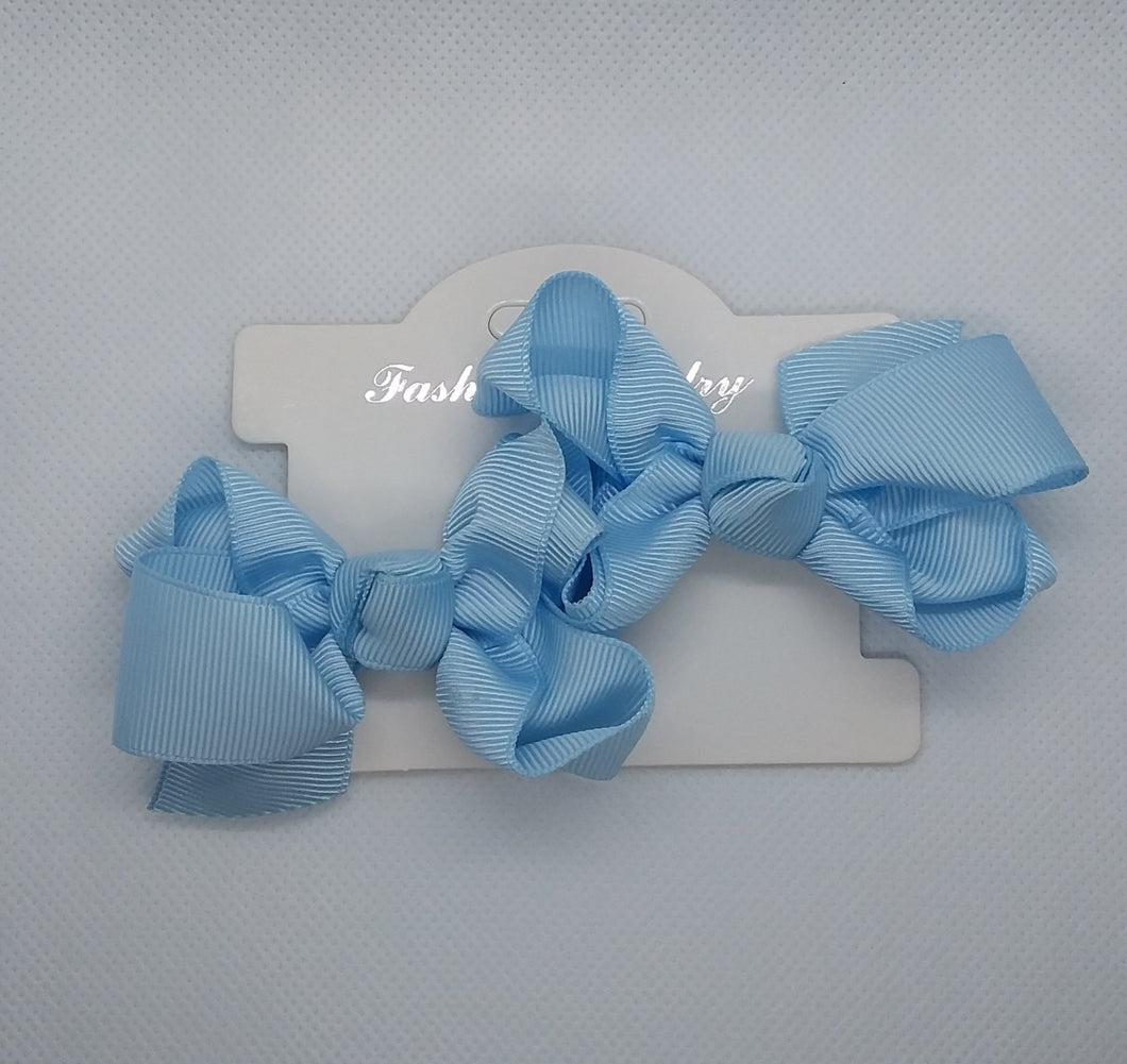 Mini Hair Bow - LilChic BabyBug Boutique