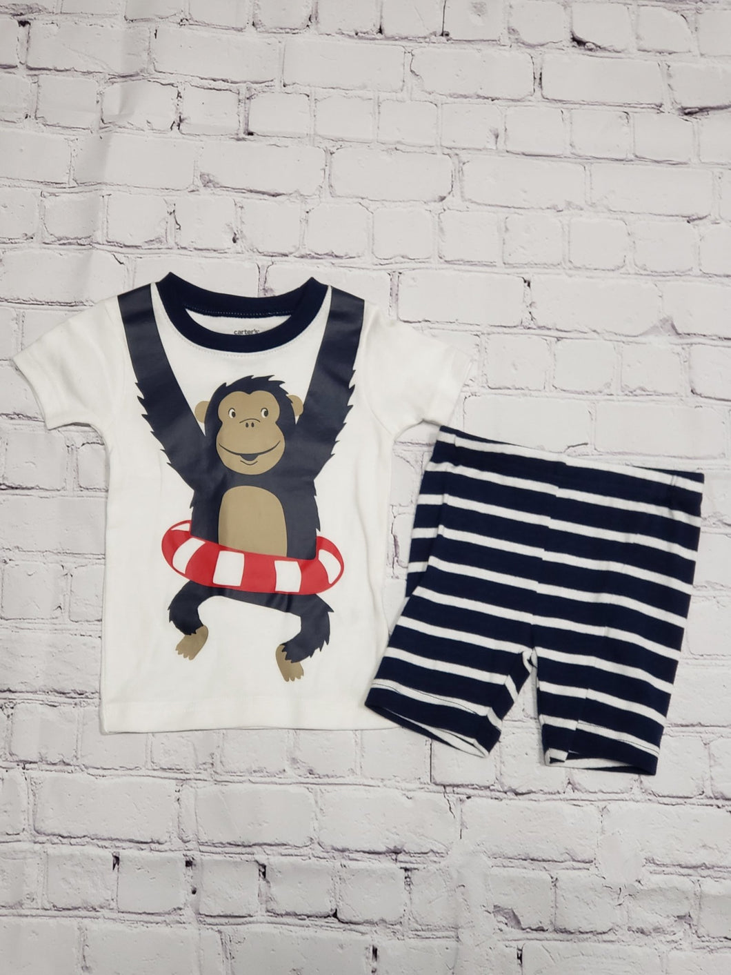 Monkeying Around set - LilChic BabyBug Boutique LLC