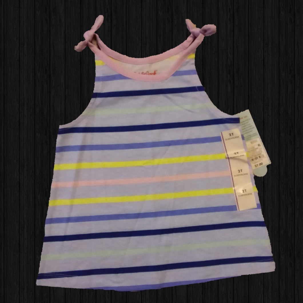 Multi Color Toddler Tank - LilChic BabyBug Boutique