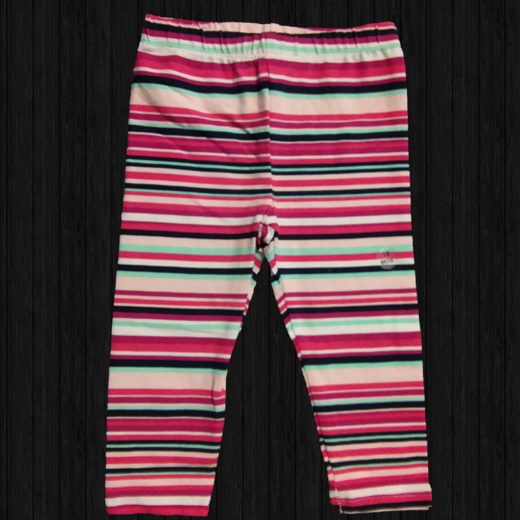 Multi Strip Leggings - LilChic BabyBug Boutique