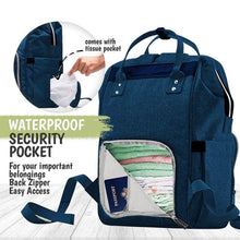 Load image into Gallery viewer, Original Diaper Backpack (Navy Blue) - LilChic BabyBug Boutique LLC