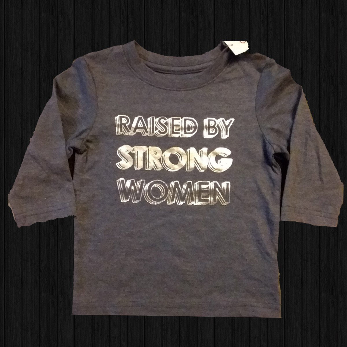 Raised By Strong Women - LilChic BabyBug Boutique