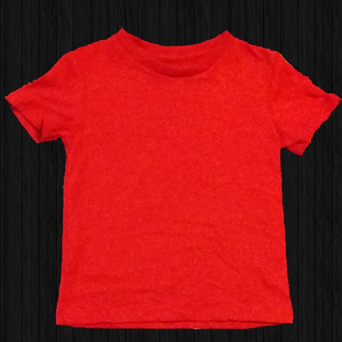 Red Basic Tee - LilChic BabyBug Boutique