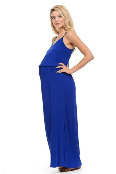 Scoop Neck Maxi Dress - LilChic BabyBug Boutique